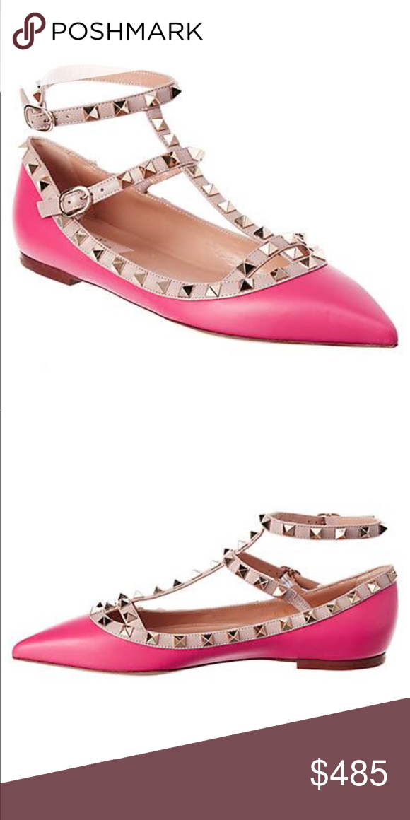 Photos To Come Valentino Rockstud Leather Studded See Photos Size 39