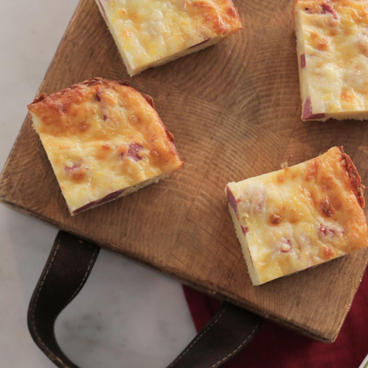 Valeries cheesy salami pie recipe valerie bertinelli main meal food forumfinder Images