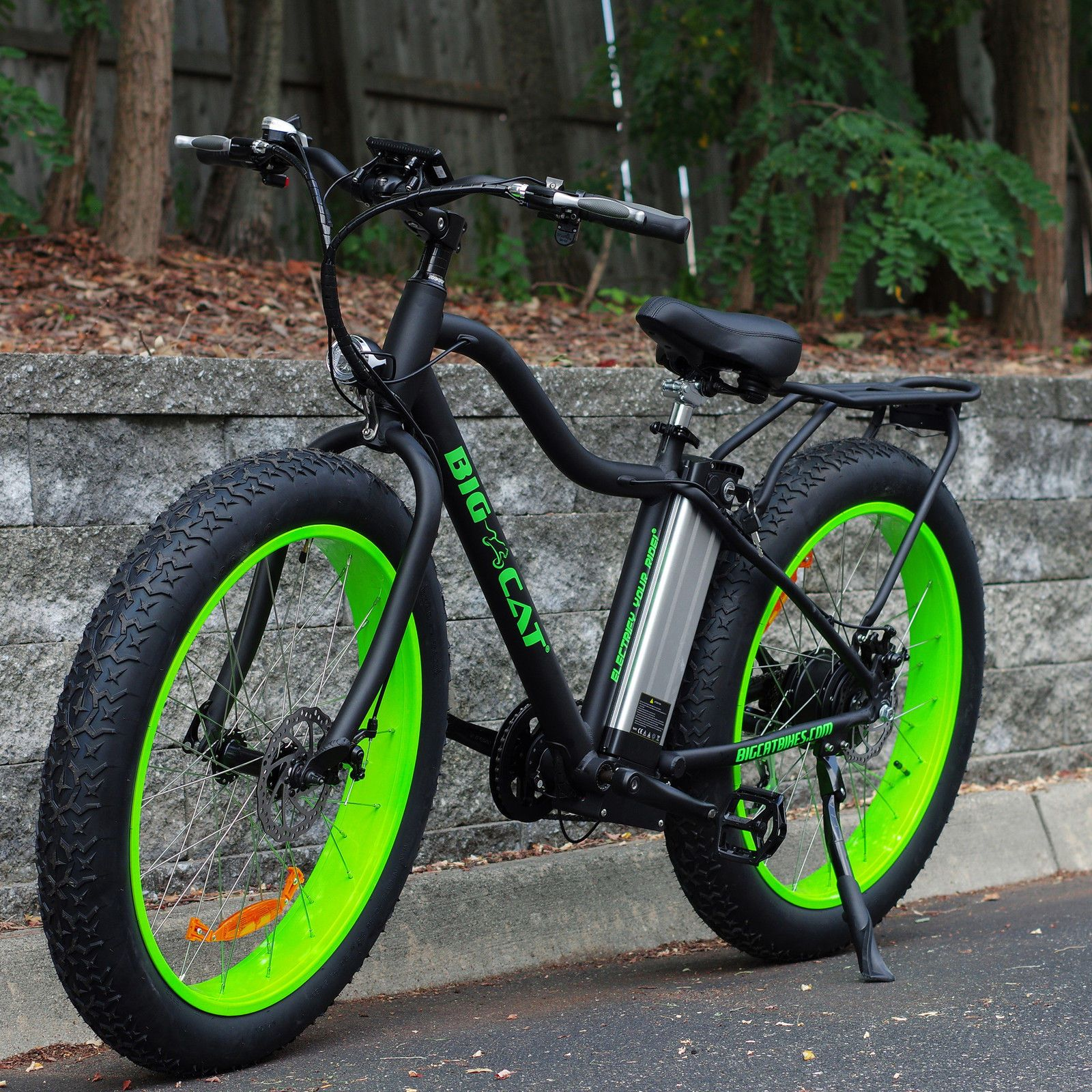 Pin Op Fast Electric Bike