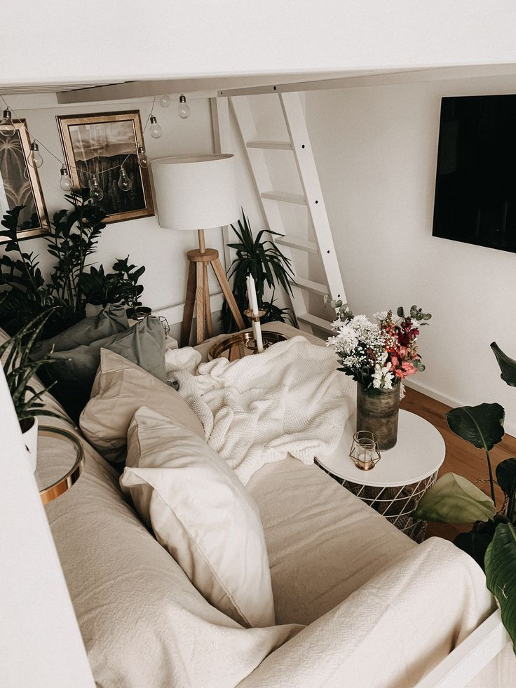 IKEA DekoChallenge Kleine Wohnung mit Hochbett Kleine