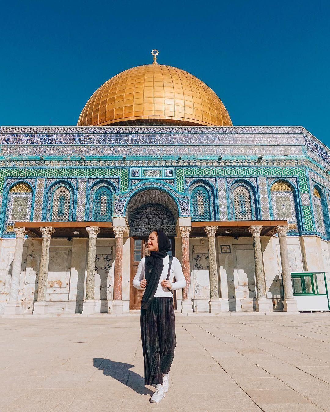 Dome of the Rock, Temple Mount, Al-Aqsa Mosque, Jerusalem | Sabina Trojanova | Instagram