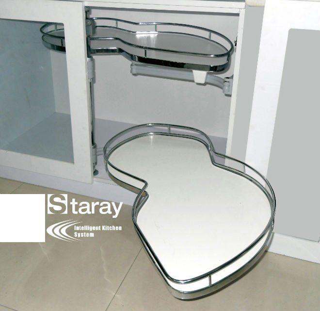 Best Wood Swing Tray Magic Corner Basket Corner Kitchen 400 x 300