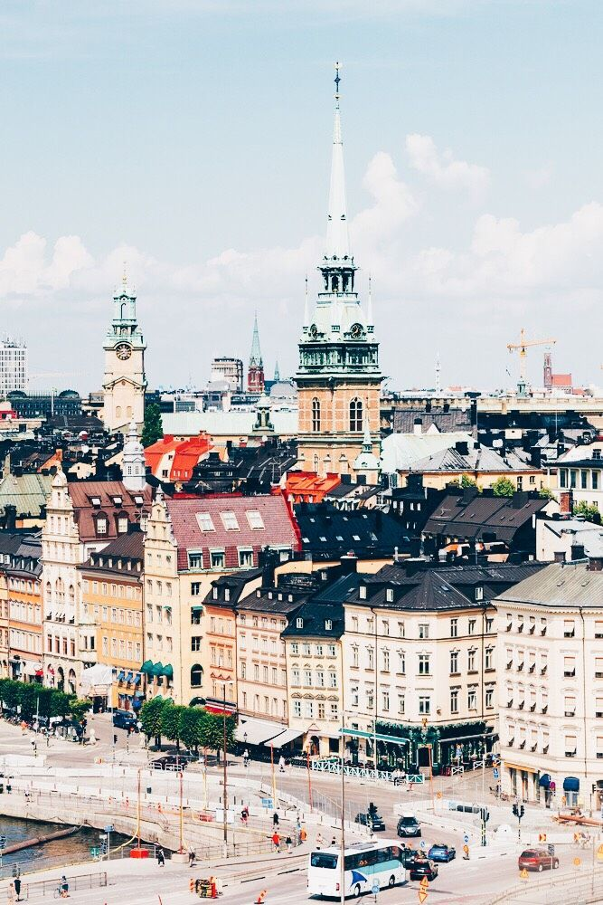 The Most Underrated Towns In Sweden Sweden Wanderlust And - Sweden map towns