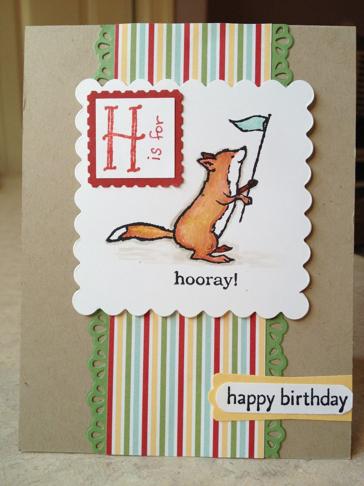 Storybook Friends, Storytime dsp, Finishing Touches edgelits - Catherine Loves Stamps