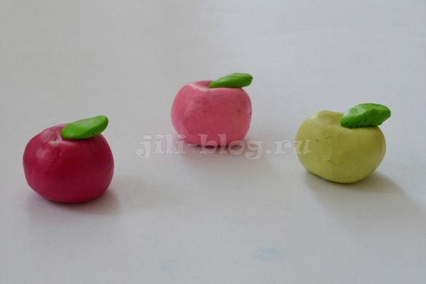 Поделки из пластилина для детей: 2, 3, 4, 5, 6 лет