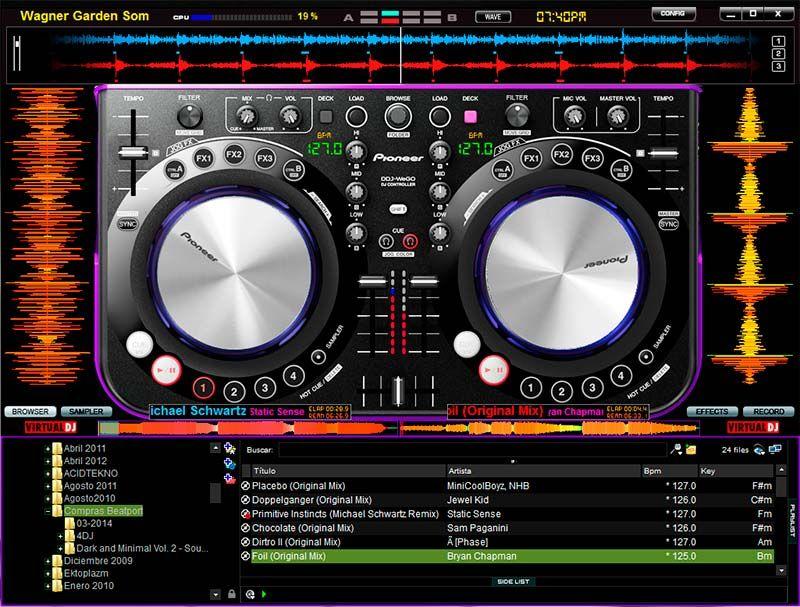 Skin Virtualdj 7 Pioneer Ddj Wego Mixagem Entretenimento