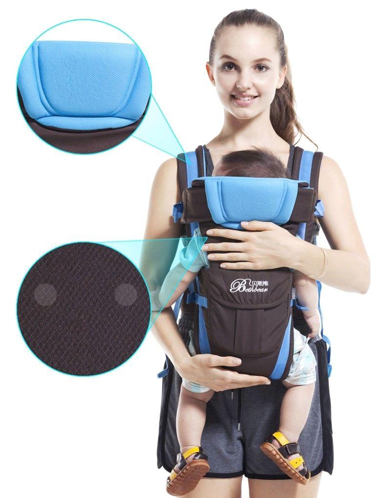 Baby carrier Ergonomic strong breathable adjustable infant newborn backpack UK