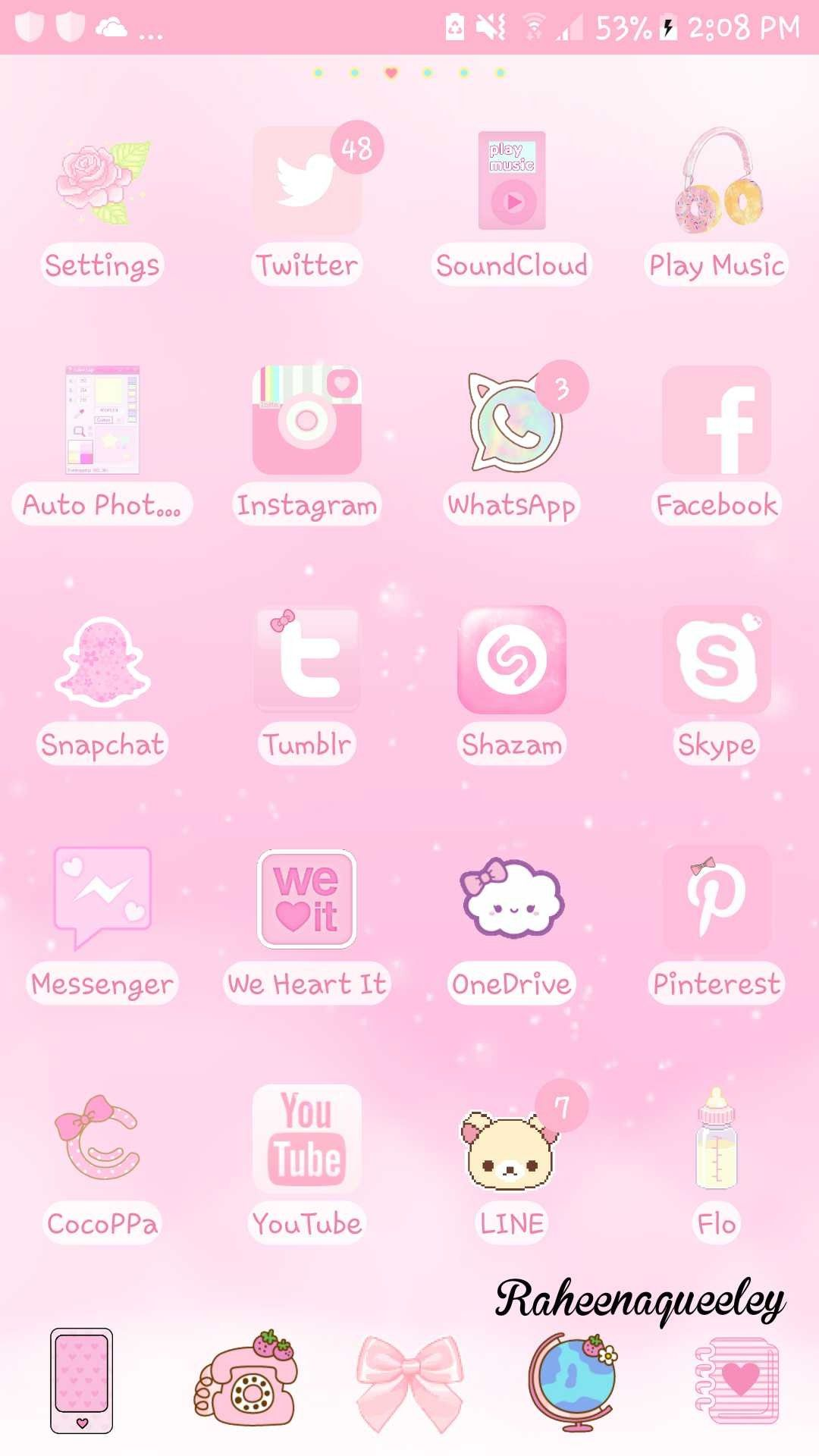 Pin by Raheena Queeley🐱 on Diy wallpapers by me (pinky) in