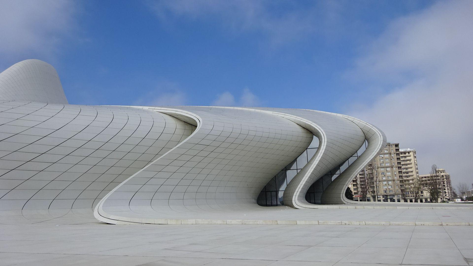 Heydar Aliyev Cultural Centre, Baku,Azerbaijan Baku
