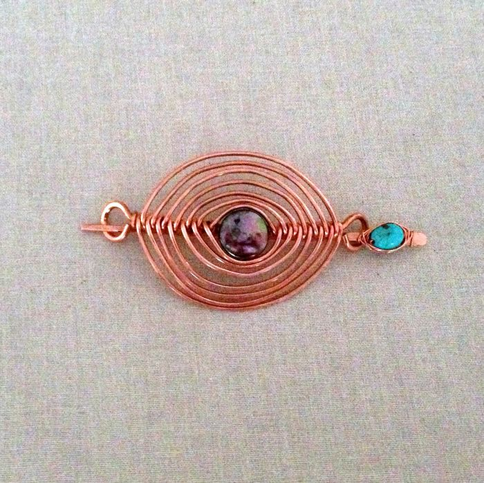 Lisa Yang's Jewelry Blog: Handmade Wire Hair Clip Barrettes