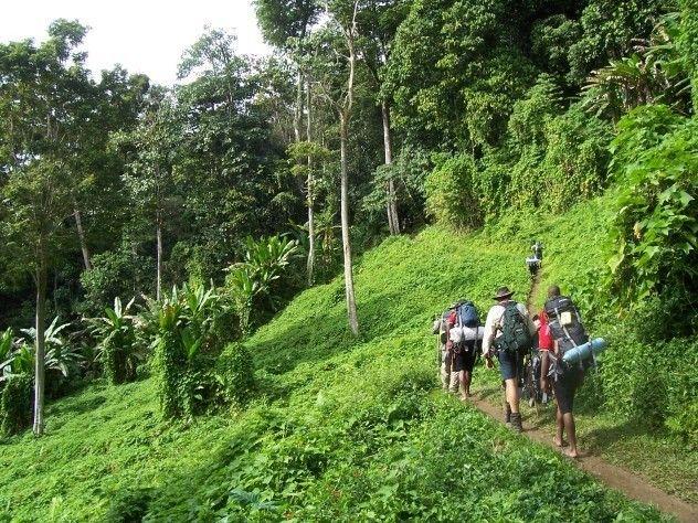 Đường mòn Kokoda và Black Cat tại Papua New Guinea
