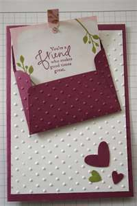 Pocket Card Plus Several Other Card Ideas Cards Handmade
