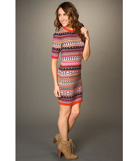Ted Baker Gryne Fair Isle Knitted Dress Beige | Baddass Outfits ...