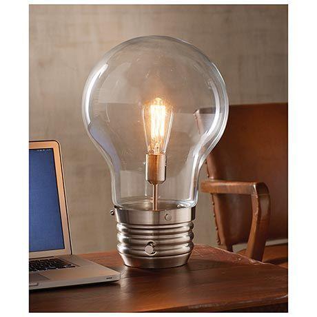 Giant Lightbulb Google Search, Big Bulb Table Lamp