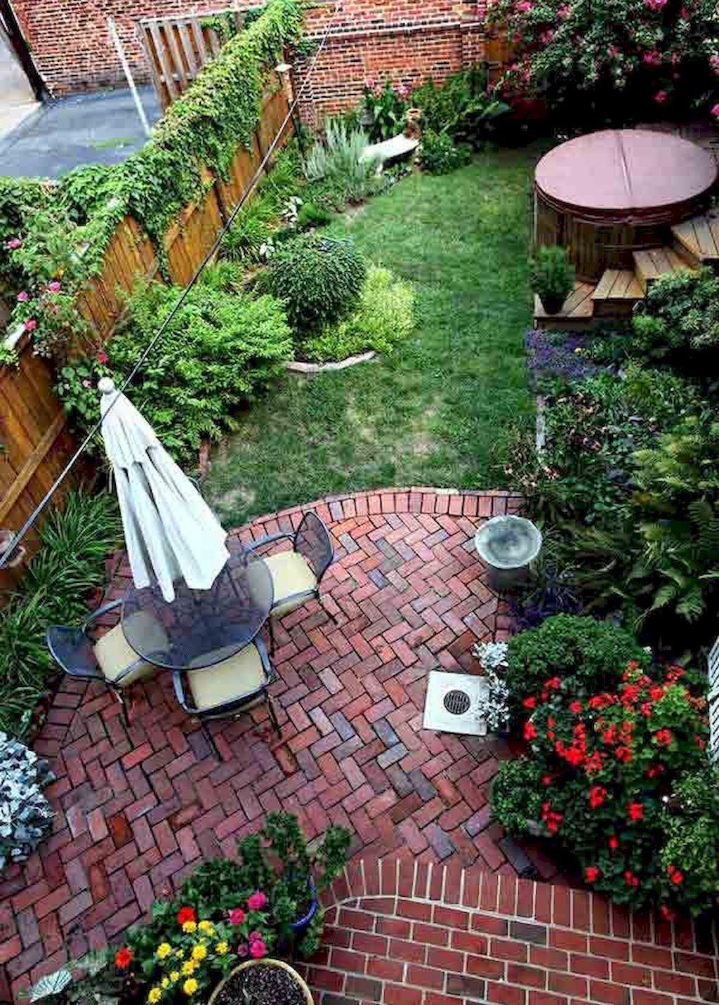Amazing 55 Small Backyard Garden Landscaping Ideas   Decorapatio.com