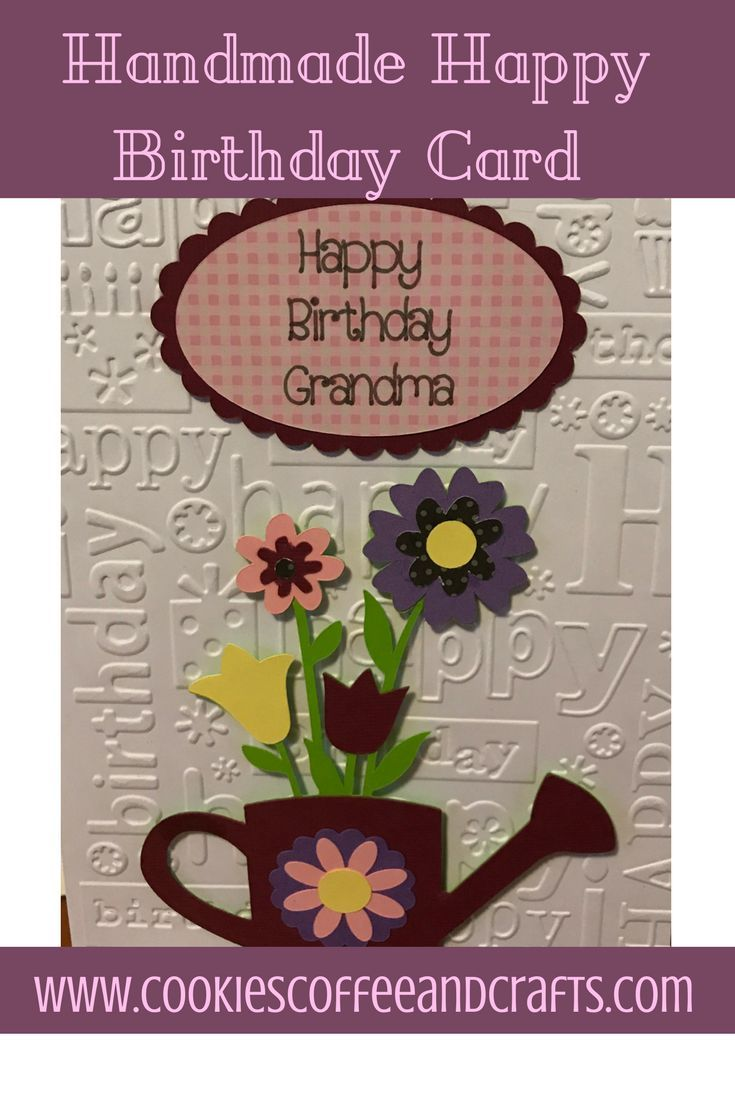 Handmade happy birthday card happy birthday cards card ideas and