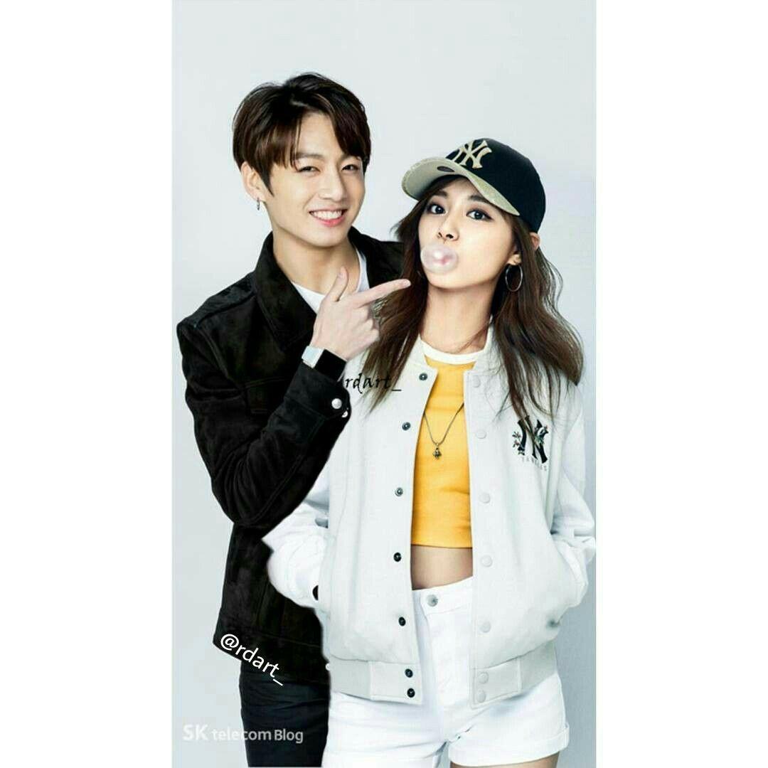 Happy 1st Anniversary BANGTWICE  #TZUKOOK #TZUYU #JUNGKOOK #BANGTWICE #BTS #TWICE Jung Kook, Bts Twice, Kpop Couples, Tzuyu Twice, Girl Couple, 1st Anniversary, I Love Bts, Bts Boys, Boyfriends