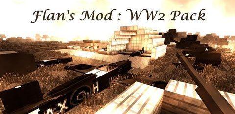 Flans World War Two Pack Mod 1710172164152 Minecraft