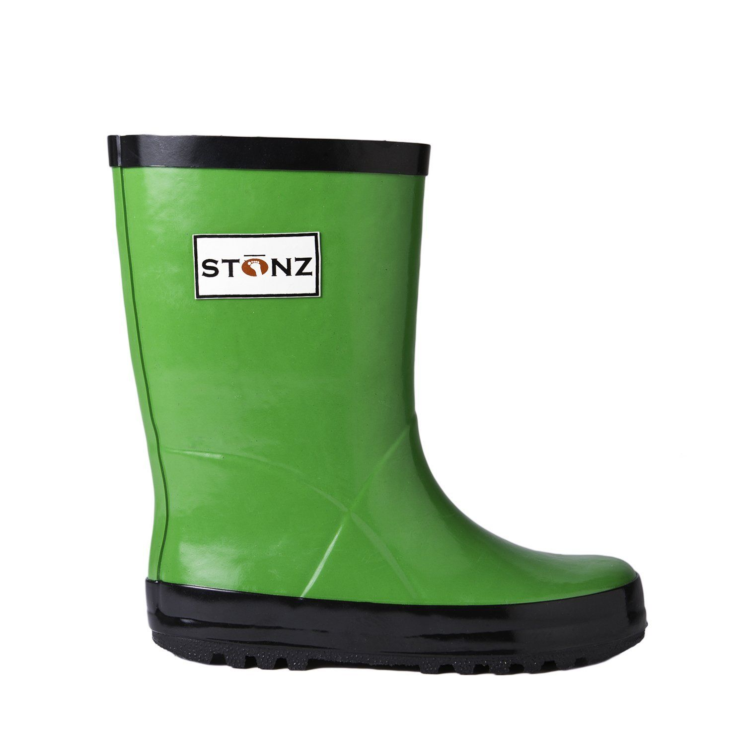 52b68f6b28c Stonz Natural Rubber Rain Boot (Toddler/Little Kid/Big Kid) ^^ Check ...