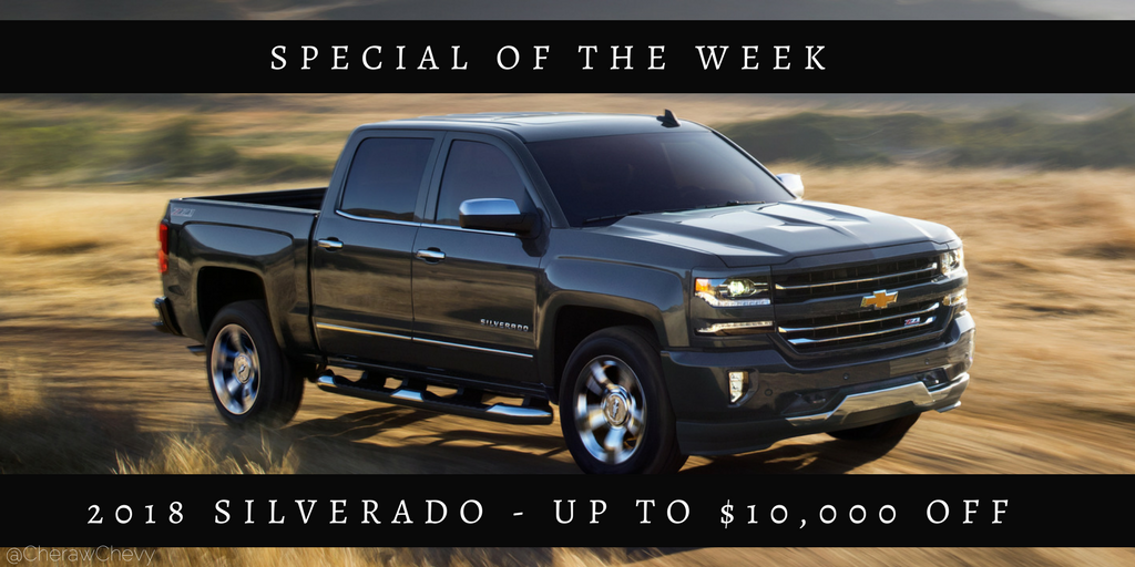 Specialoftheweek When Nothing Less Than The Most Dependable Will Do Strong Capable And Built To Stand T Chevrolet Silverado Chevrolet Silverado 1500 Trucks