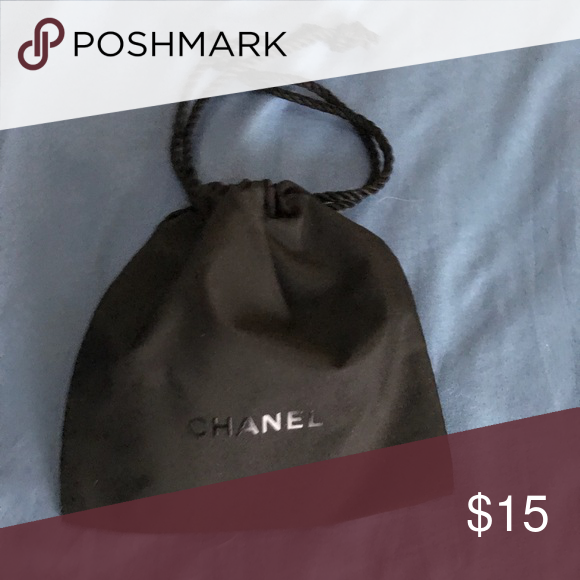 d4dc5f42cd9f Chanel Draw String Bag This is a small drawstring bag that would be ideal  for storing your compact... CHANEL Other