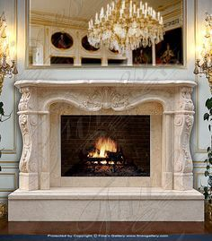 luxury fireplaces - Google Search | decorating | Pinterest ...