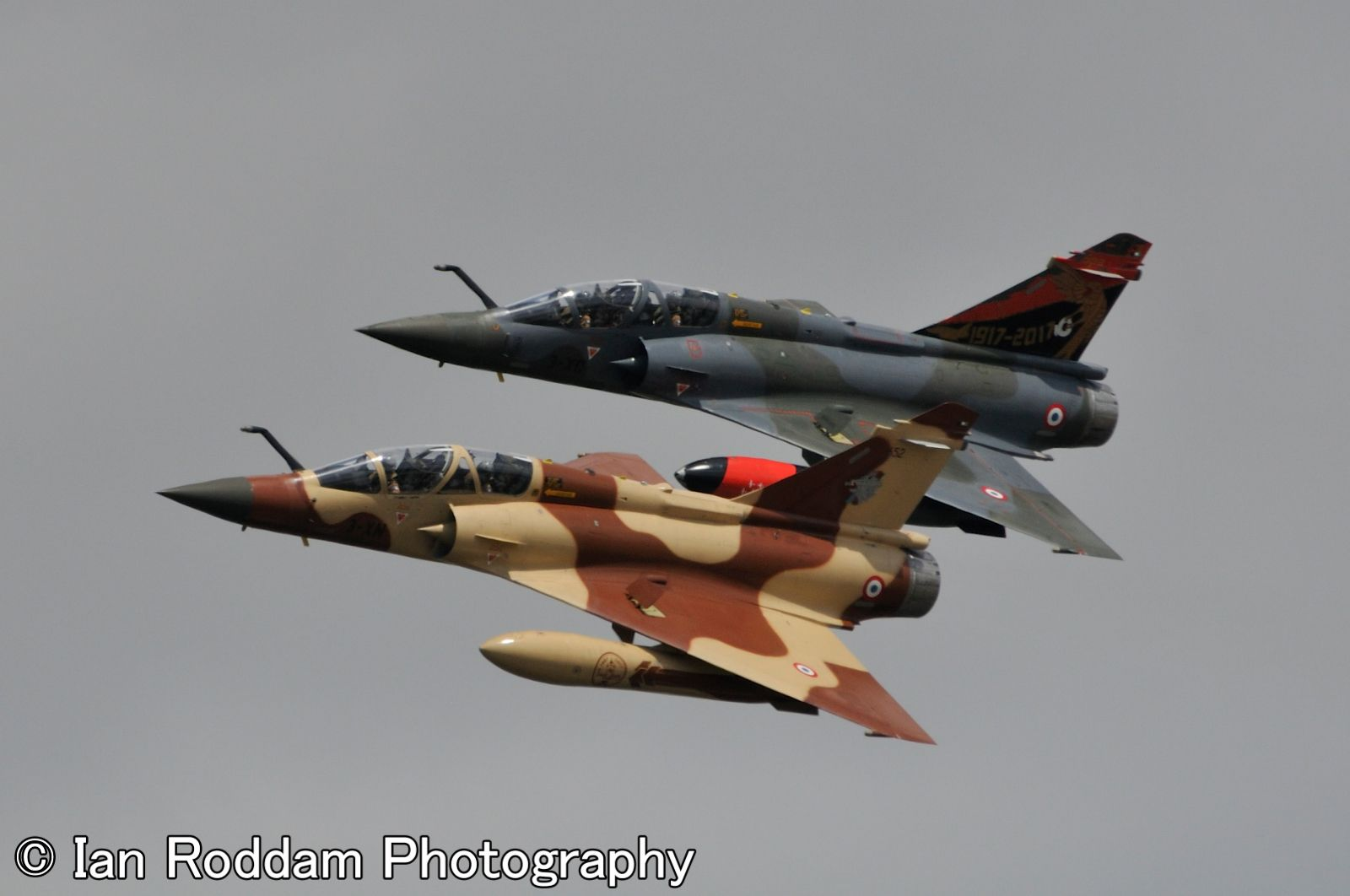 Mirage 2000D's, Couteau Delta, French Air Force.