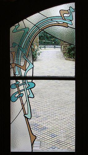 Les Vitraux Du Castel B 233 Ranger Hector Guimard Glass