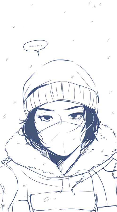 Frost By Edich Art With Images Rainbow Six Siege Art Rainbow