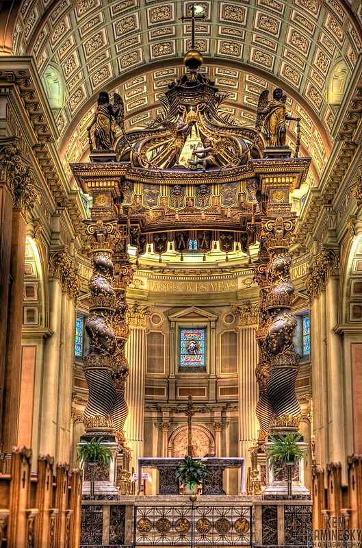 Mary, Queen of the World Cathedral in Montreal | Ken Kaminesky
