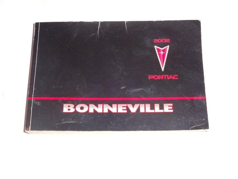 owners manual 2002 pontiac bonneville operating manual guide u2022 rh astra freewayprojects com 2003 Pontiac Bonneville Interior 2000 Pontiac Bonneville