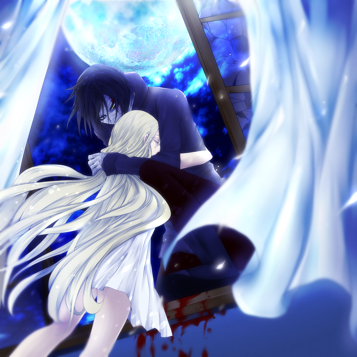 Angel of slaughter fanart ray and zack angels of - Best anime images website ...