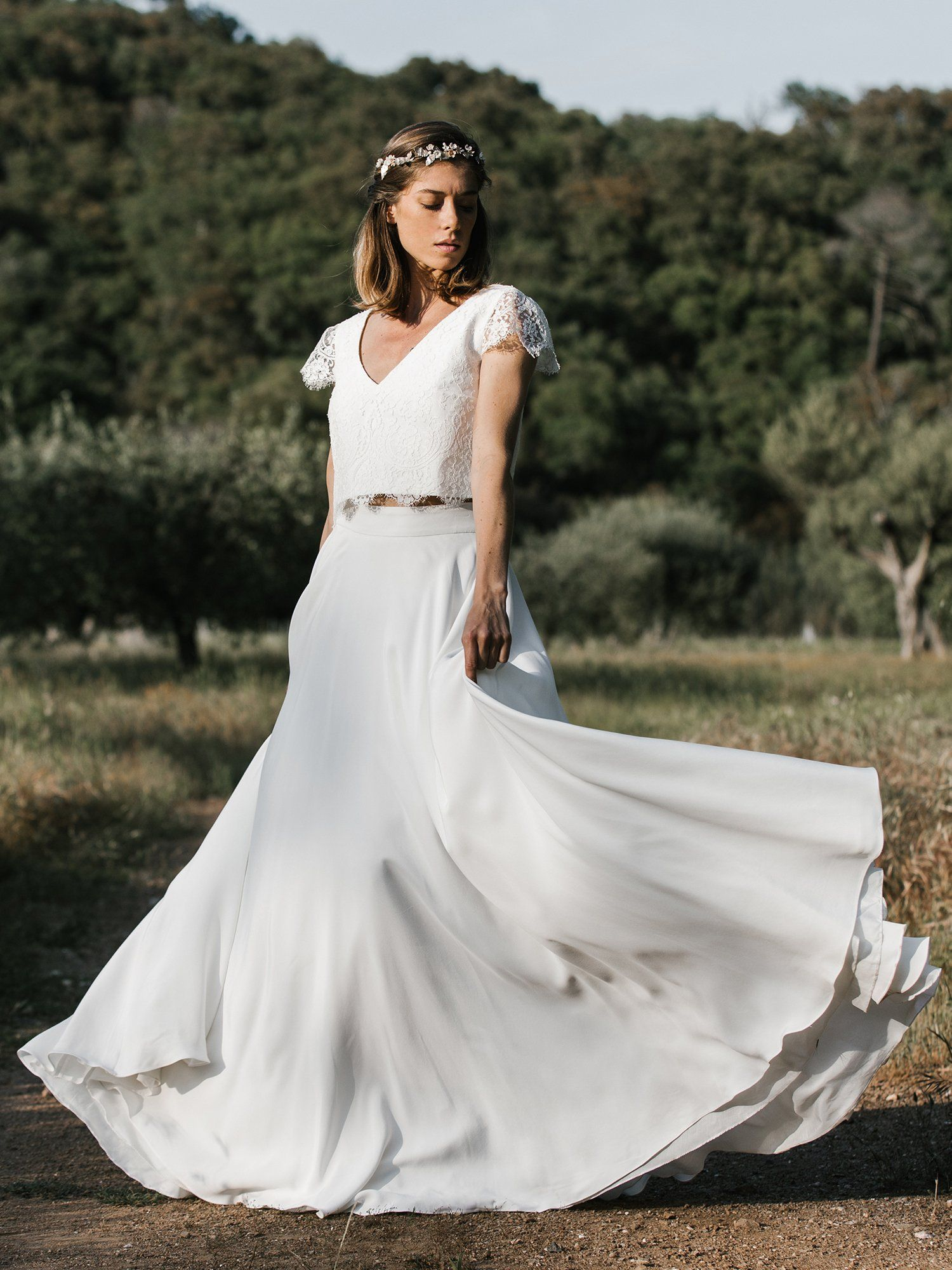 Robe fiancaille 2020