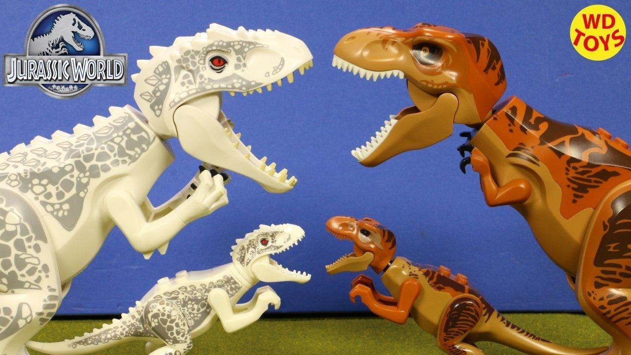 New 10 Jurassic World Lego Dinosaur Toys (Knockoff