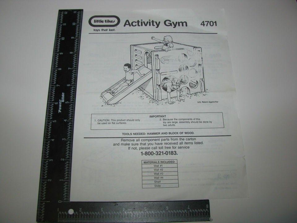 1990s Little Tikes Activity Gym No 4701