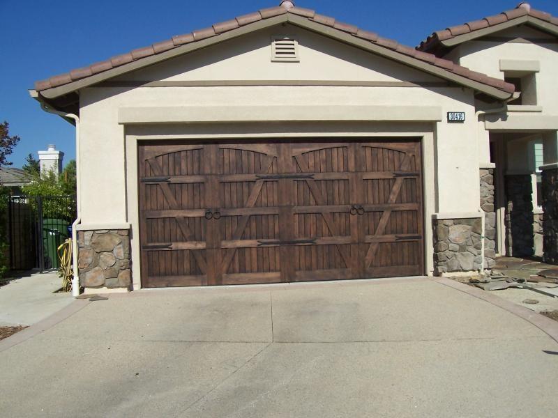 Fancy Garage Doors By Summit Inc Wood