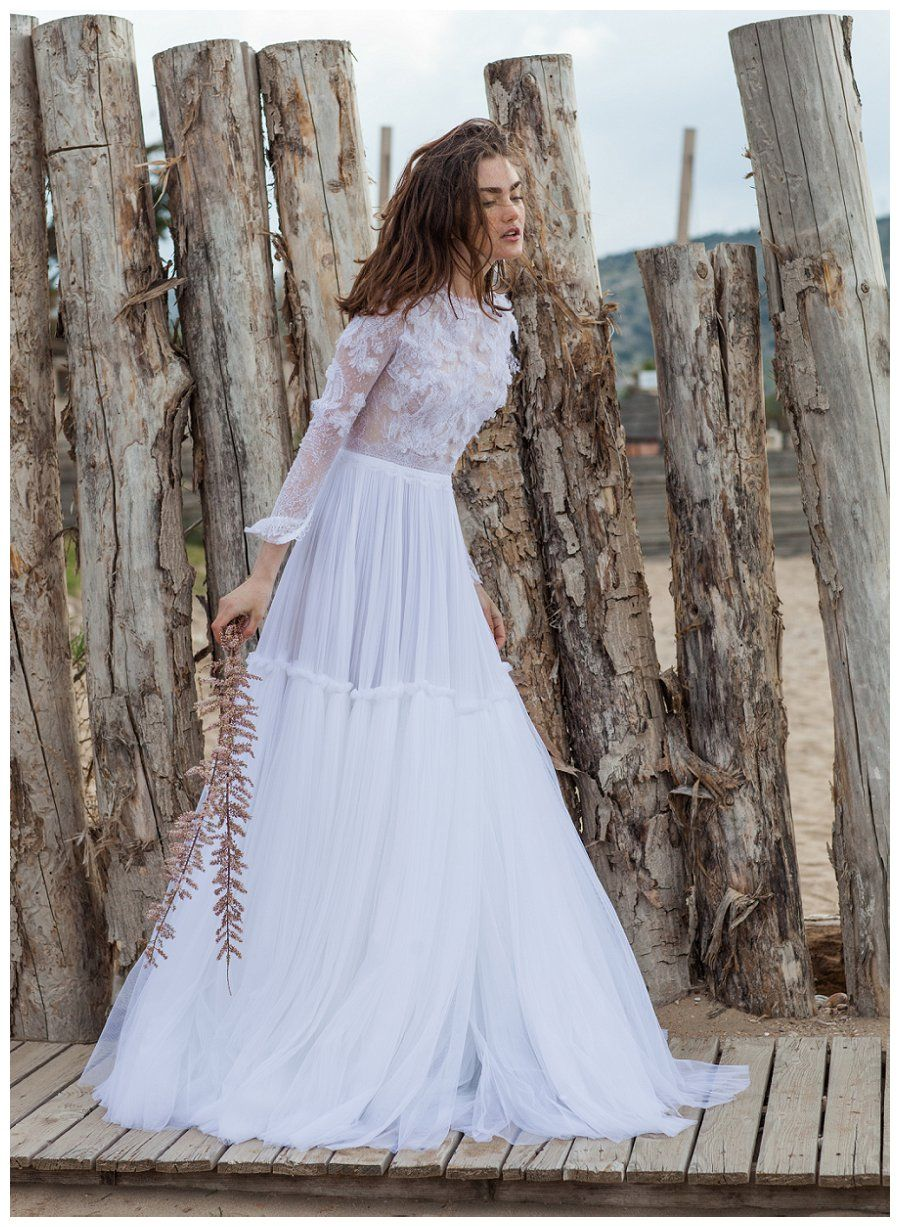 Christos spring summer wedding dresses with an accent