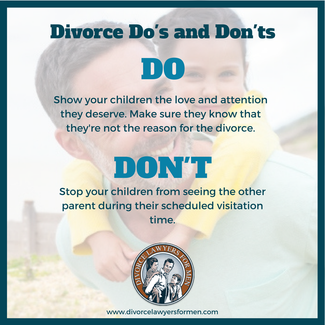 Divorce Do's and Don'ts (With images) Divorce advice