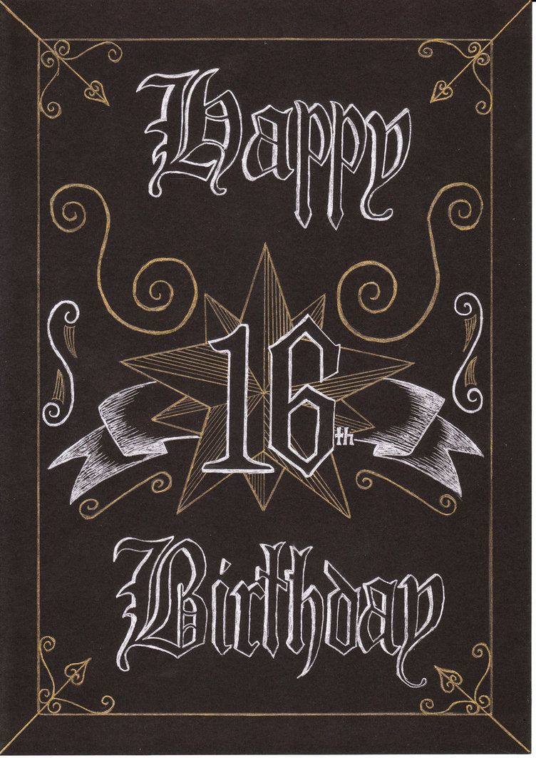 Happy Sweet 16 To Dylan S Candy Bar: Pix For > Happy 16th Birthday Card For A Boy