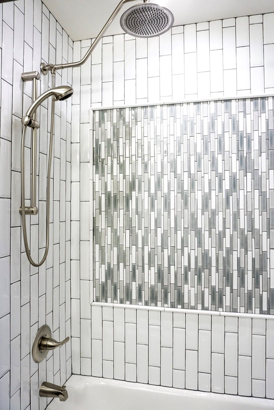 Oversized 10 Inch Diameter Stainless Rainfall Shower Head With 260