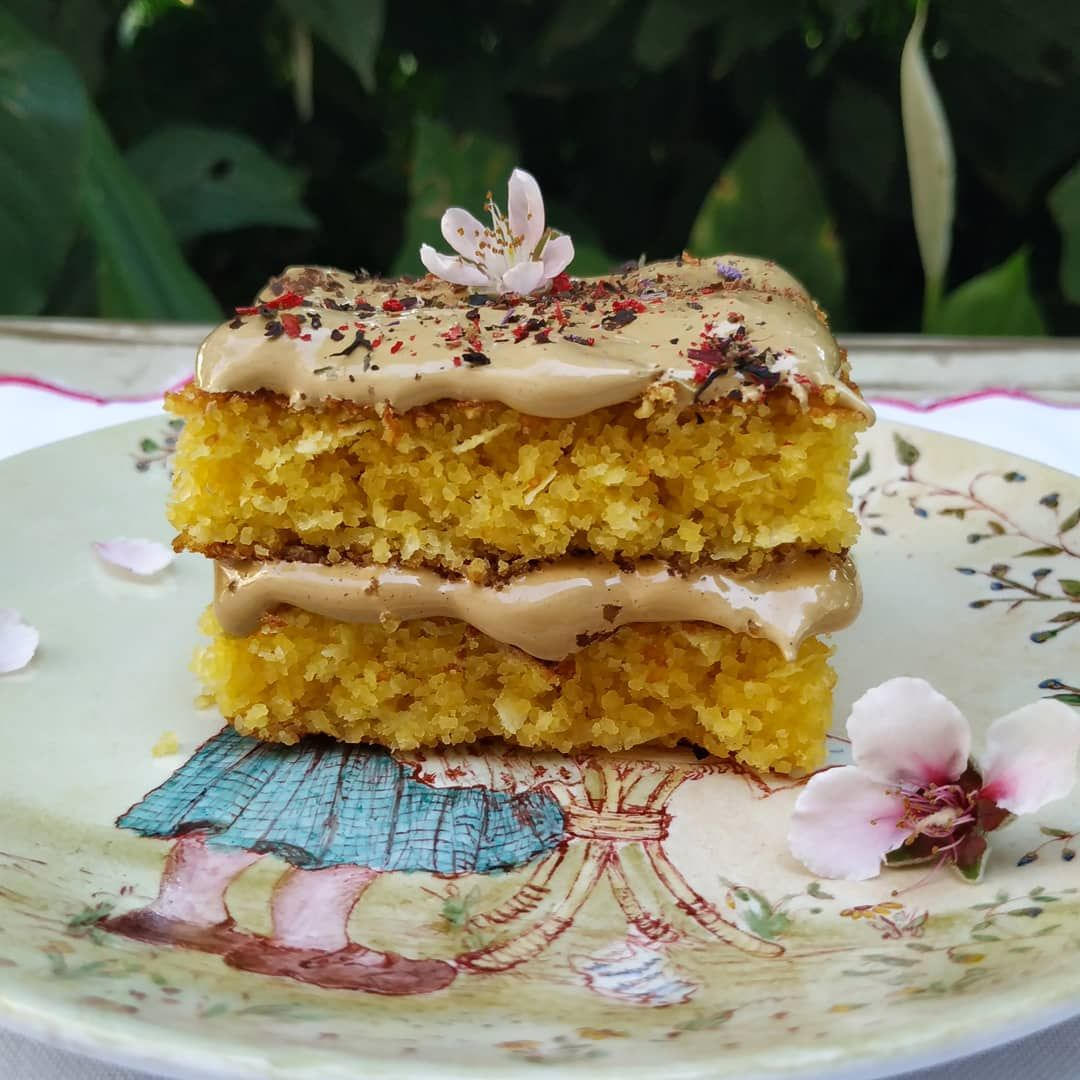 ..Jaracatiá Cake whit Dalgona Coffee Cream....Meu