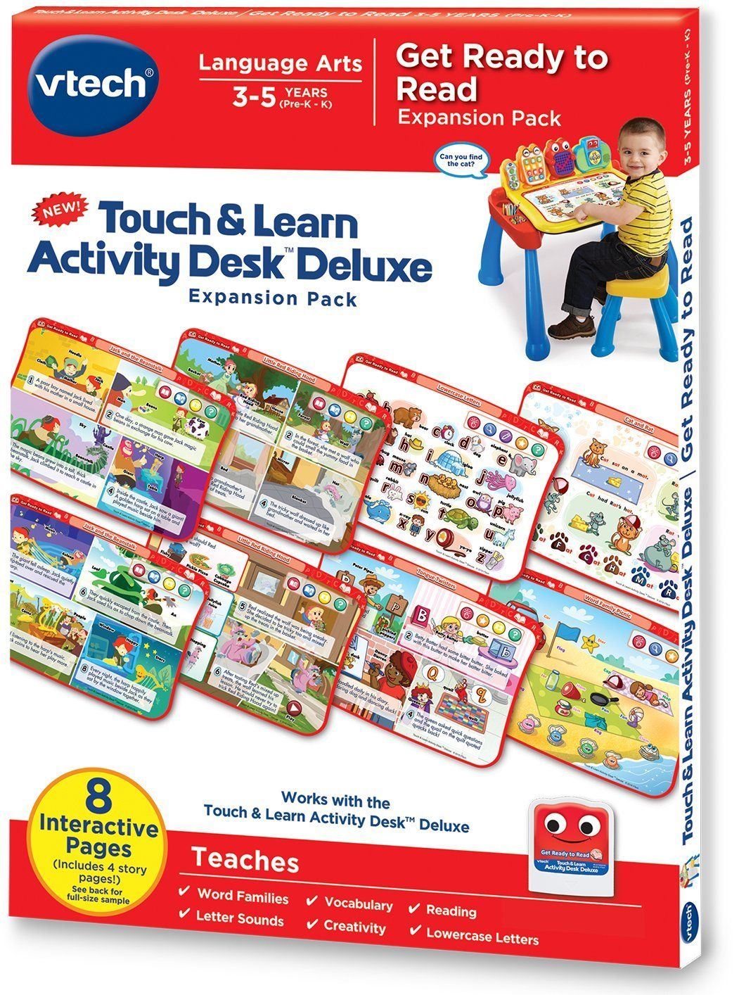 BUY VTech Touch and Learn Activity Desk Deluxe Get Ready