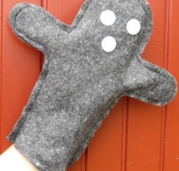 Tuto et jeux avec une marionnette gant