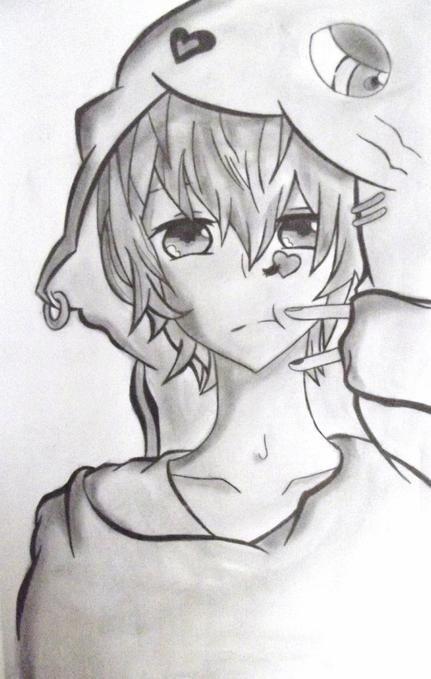 dessin garcon manga banale 3 - Dessin De Manga