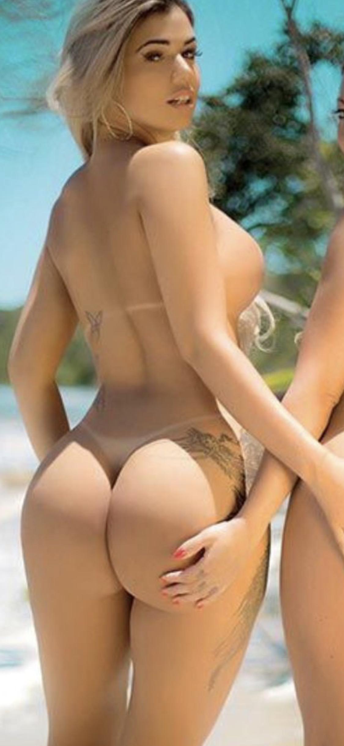 Sexy Frauen Hintern