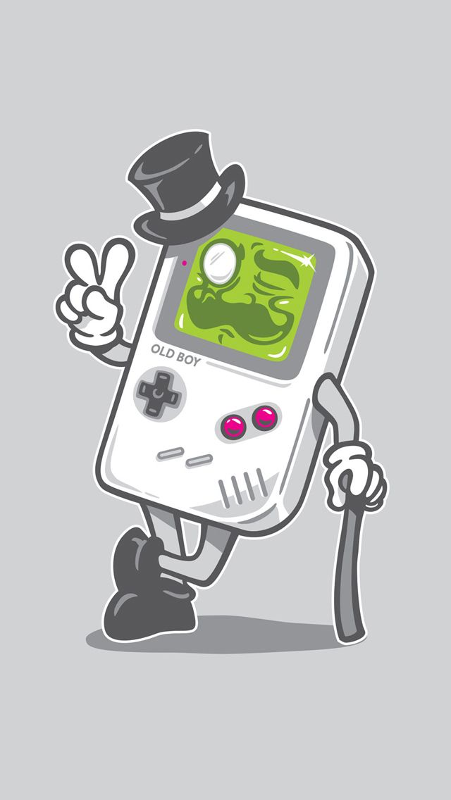 Classic game boy old boy iphone 5 wallpaper go to - Classic art wallpaper iphone 5 ...
