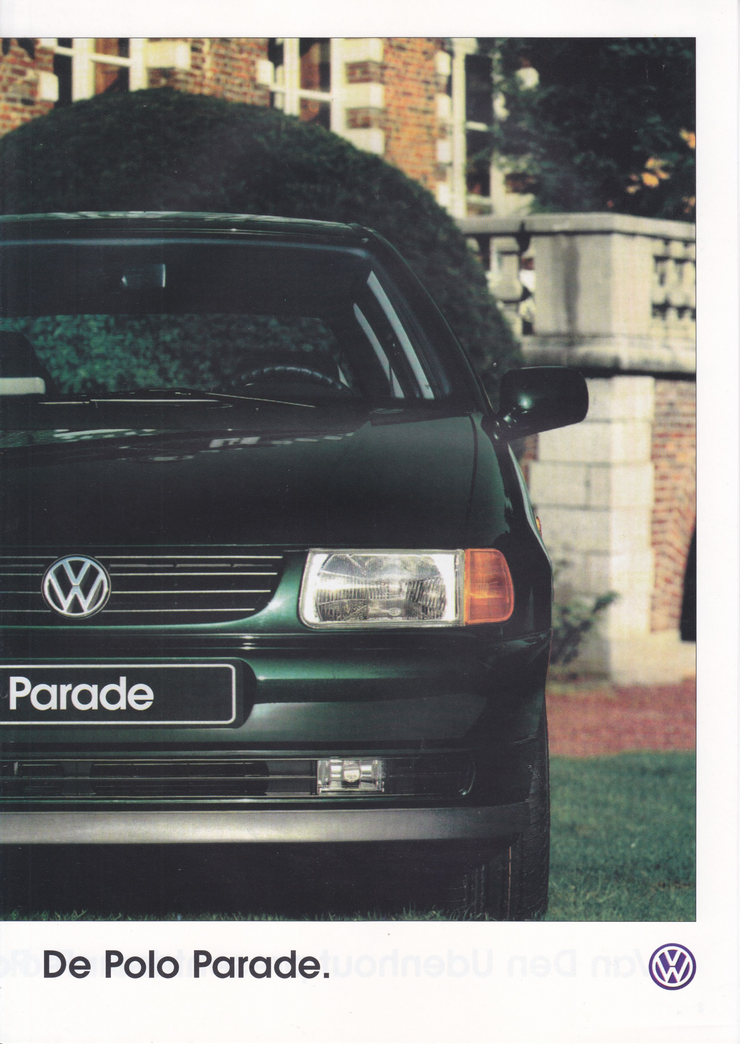 Volkswagen Polo Parade 4 Pages Dutch Special Edition Model 1997 Volkswagen Polo Volkswagen Cars For Sale