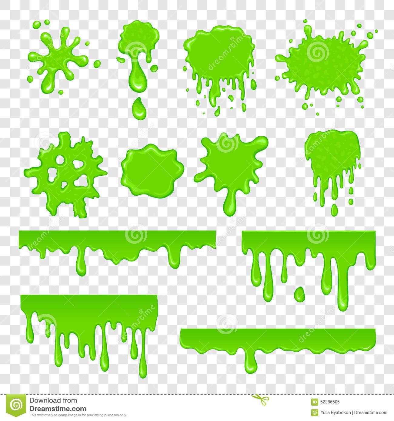 Green Slime Set Stock Vector Illustration Of Drawing 62386606 Slime Birthday Drip Art Graffiti Alphabet