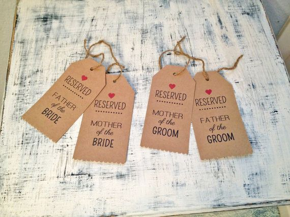 Just launched a little wedding collection out of fear I'll have withdrawals once our wedding planning is over! See these reserved seat tags and more on Etsy: https://www.etsy.com/shop/TexasFarmersDaughter