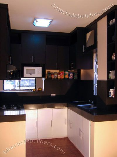 Black And White For Small Kitchens Cocinas Integrales